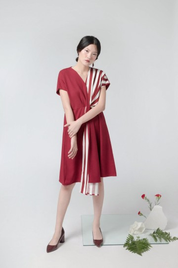 Mix Berry Kala Dress