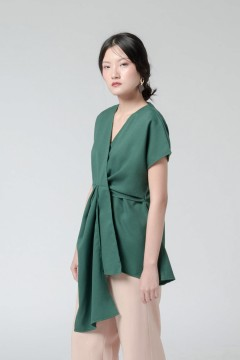 Forest Green Kimi Top