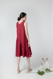 Maroon El Nido Dress