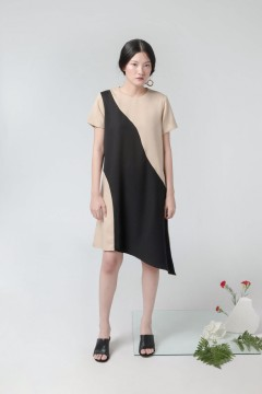 Mix Latte Dress
