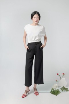 Black Lee Culottes