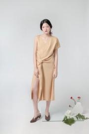 Khaky Millie Dress