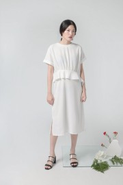 White Alanza Dress