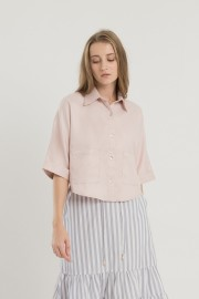 Blush Plain Shirt
