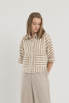 Stripes Plain Shirt