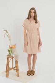 Creme Reflex Dress