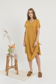 Mustard Elated Dress