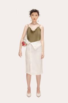 White Kendra Skirt