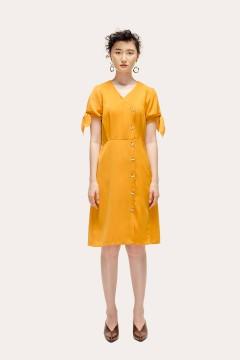 Mustard Aurora Dress