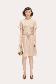 Beige Ayura Dress