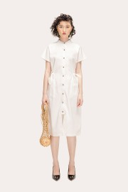 White Thames Dress