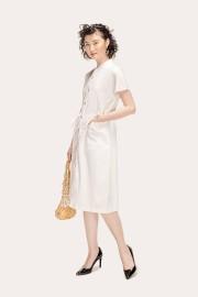 White Thames Dress