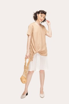 Latte Karen Dress