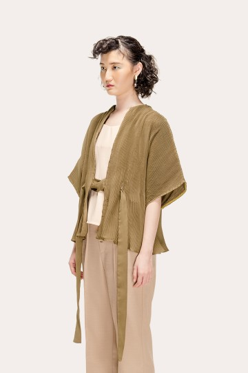 Army Pleated Molly Outer