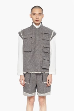 Tweed Industrial Vest PO