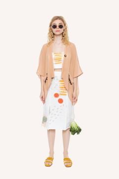 Bronze Caspian Kimono