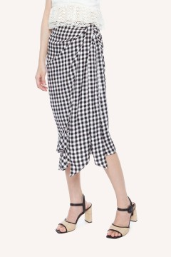 Checked Byron Skirt