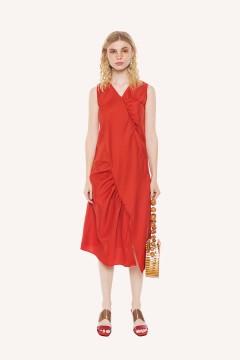 Coral Anthem Dress