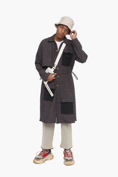 Anthracite Trench Coat