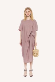 Plum Kaftan Dress