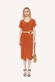 Brick Symphony Dress