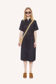 Pinstripes Utility Dress