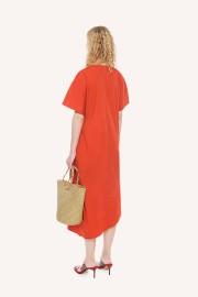 Coral Eurasia Dress
