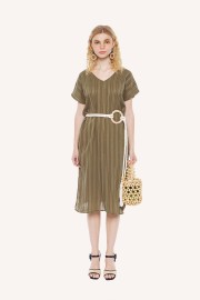 Olive Symphony Dress