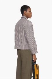 Mauve Stripes  Parallel Shirt