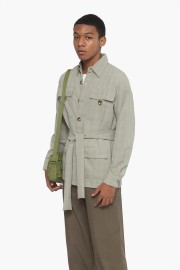 Checked Misty Utility Shirt