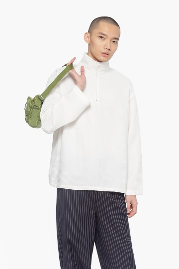 White Turtle Neck Shirt