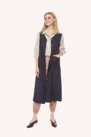 Pinstripes Vest Outer