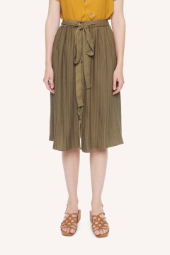 Army Artic Pleated Skirt