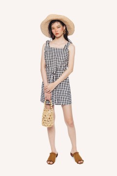 Checked Coco Jumpsuit