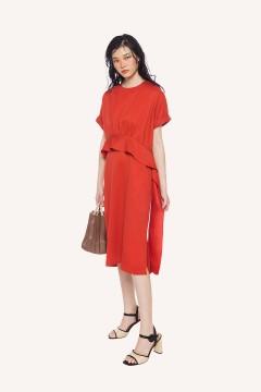 Coral Alanza Dress