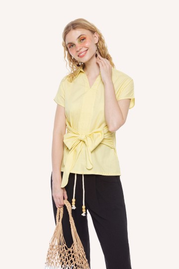 Lemon Miami Top