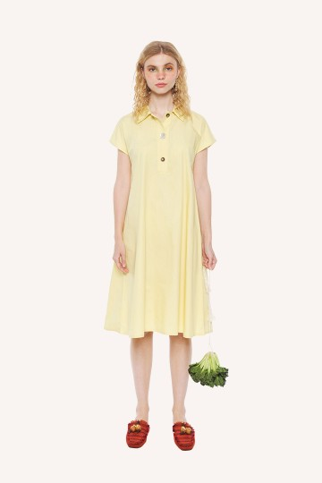 Lemon Lisbon Dress