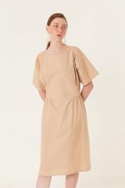 Cream Allure Dress