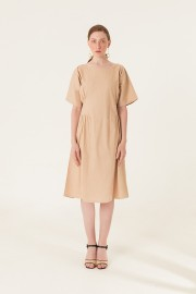 Cream Allure Dress