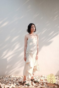 Creme Seung Ha Dress