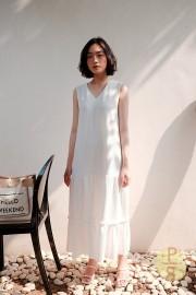 White Da Hae Dress