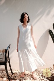 White Da Hae Dress