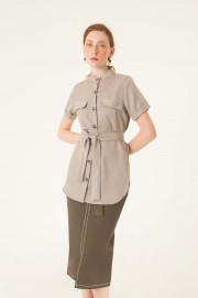 Grey Savana Top
