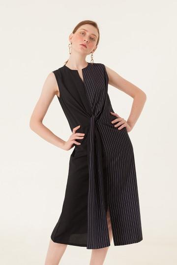 Pinstripes Context Dress