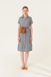 Checked Island Dress