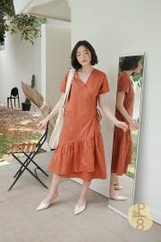 Brick Haewa Dress
