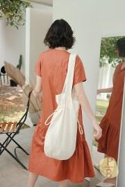 Brick Haewa Dress