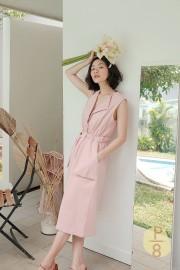 Berry Hae Won Vest Dress