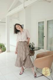 Checked Mae Skirt
