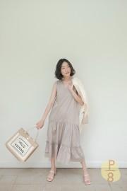 Taupe Da Hae Dress